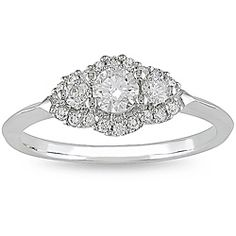 @Overstock - Diamond engagement ring14-karat white gold jewelryClick here for Ring Sizing Charthttp://www.overstock.com/Jewelry-Watches/14k-White-Gold-1-2ct-TDW-Diamond-Engagement-Ring-H-I-I1-I2/4821901/product.html?CID=214117 $600.99