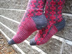 Ravelry: Neptune High pattern by Glenna C. Private Eye, Pink And Green, Brown And Grey, Ravelry, Preppy, Socks, Pattern, Style, Fashion