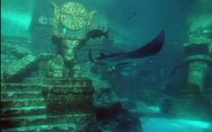 200 ancient cities that have been submerged-------the oceans were 450 feet lower than they are today