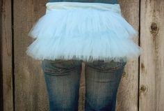 Cute Fanny Pack Bustle Bag Sweet Lolita Tutu by RestylingThePast