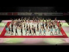 Spelbound perform Nostalgia at European Gymnastic Championships in Montpellier part 2