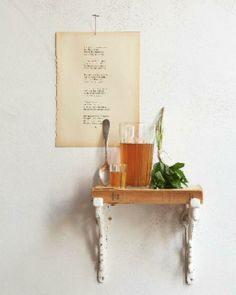 DIY Shelf from an old book