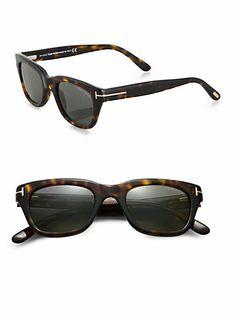 Tom Ford Eyewear - Plastic Wayfarer Sunglasses