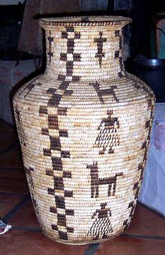 Pima Olla Basket, Arizona, USA
