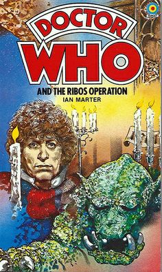 Doctor Who Paperback, Doctor Who and the Ribos Operation by Ian Marter, Number 52 in the Doctor Who Library, A Target Book, Reprinted 1983.