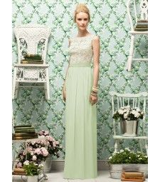 Stunning! Now THIS is a bridesmaid's dress! The lace top is gorgeous!