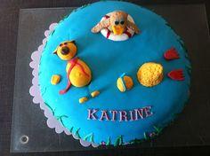 Fru Hollensens køkkenskriverier: Fødselsdagskage: Bamse & Kylling