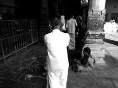 Prayer in temple