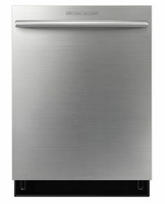 DW80F800UWS Samsung Top Control Dishwasher with Stainless Steel Tub - Stainless Steel