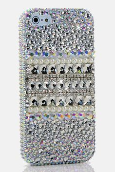 Shine Bright Like a Diamond pearl Design iPhone 5, iPhone 5s, iPhone 5c bling case for girls; See more iPhone bling cases at http://www.luxaddiction.com