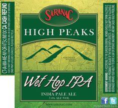Saranac – High Peaks Wet Hop IPA