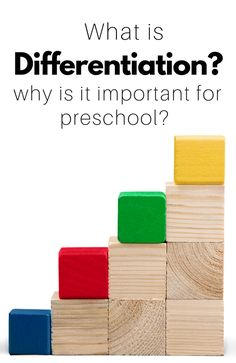What is differentiation and why does it matter in preschool? This is a MUST read for teachers.