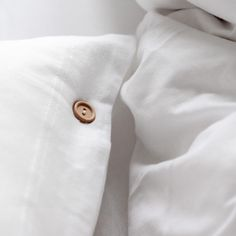 Pillowcase made from very soft jersey in pure white colour. The natural fabric allows the skin to breathe and bed linen is as pleasant to the touch as your beloved t-shirt. Pillowcases have natural wooden buttons. You'll love it from the first touch. COMPOSITION: 100% cotton Cotton Bedding, Linen Bedding, Pure White, Pillowcases, Bed Linen, Breathe, Composition, Buttons, Touch