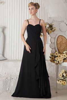 Elegant Sweetheart A-Line Celebrity Dress wr1853 - http://www.weddingrobe.co.uk/elegant-sweetheart-a-line-celebrity-dress-wr1853.html - NECKLINE: Sweetheart. FABRIC: Chiffon. SLEEVE: Sleeveless. COLOR: Black. SILHOUETTE: A-Line. - 127.59