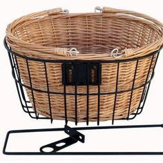 Cane Basket for Vintage Ladies Bicycle by Reid Cycles