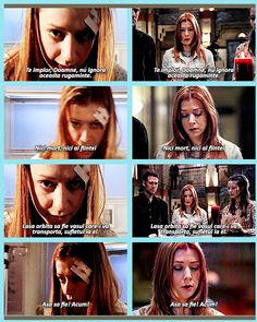 """Of course. Bring in the only living person to ever re-ensoul Angel.""  Buffy the Vampire Slayer, and Angel the Series"