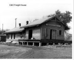 C & O freight house Jonesboro and Gas City Indiana.