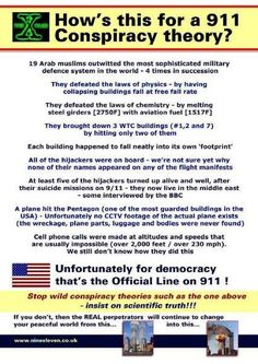 Official Line on 9/11 (There does seem to be a lot of questions the gov has never answered)