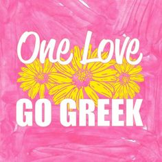 One Love Go Greek | Adam Block Design | Sorority Clothes & Custom Greek Apparel | www.adamblockdesign.com
