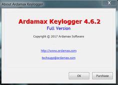 Ardamax Keylogger 4.6.2 [2017] [Cracked] [Full version]