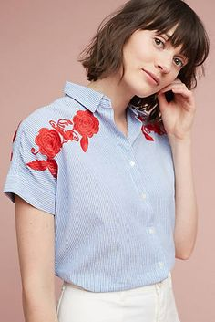 Jemima Embroidered Top