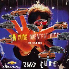 @Chevrolet Colombia te lleva a vivir el concierto mas esperado: The Cure en Bogotá este 19 de Abril Parque Simón Bolívar. Todo gracias al nuevo Chevrolet Sonic. #TheCureDeGiraxChevrolet @Chevrolet Colombia
