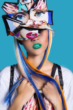 KLU by Edyta Jermaczpresents new collection hair design &styling : @JAGA HUPAŁO _born to create/ Sebastian Kobielski