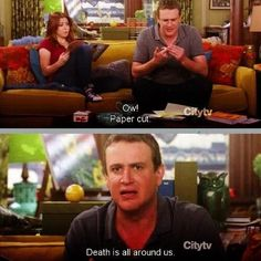"""When he started thinking about life's biggest questions: 