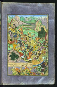 Babur confronts his enemies in the mountains of Kharabuk and Pashamun