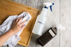 Vinegar is an effective all-purpose cleaner for most cleaning tasks. But when trying to eliminate foodborne pathogens like E. coli, Listeria and Salmonella, natural cleaners can join forces to become even more powerful. Used correctly, vinegar and hydrogen peroxide kill bacteria, viruses and germs, and are 10 times more effective together than when used separately.
