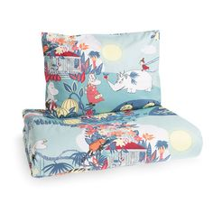Jungle Moomin duvet cover set for adults