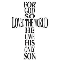 Ϯ ❤ Ϯ Spiritual Thought John 3:16