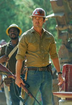Karl Urban as Gavin in Pete's Dragon. I took my mum to see this film as she loved the original. We really enjoyed the new one too!
