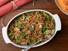Get Make-Ahead Green Bean Casserole Recipe from Food Network