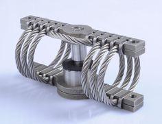 Wire rope isolator anti-vibration mount GGTX05-023 Wuxi Hongyuan Devflex Co., Ltd.