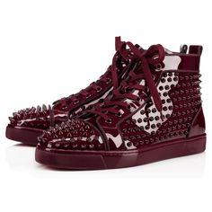 CHRISTIAN LOUBOUTIN Louis Orlato  Metal Patent/Spikes  Orthodoxe/Multi Patent Calfskin - Men Shoes - Christian Louboutin. #christianlouboutin #shoes #