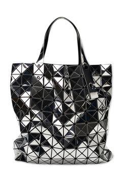 BAO BAO ISSEY MIYAKE BILBAO PRISM PLATINUM TOTE bag