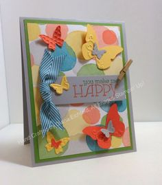 Stampin' Fun with Diana: Fab Friday Sketch Challenge: Happy Watercolor, Big Shot, Stampin' Up, Diana Eichfeld