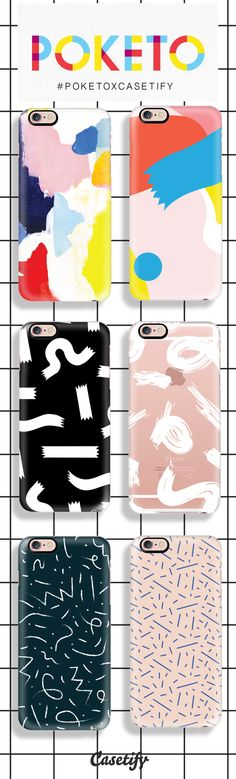 When Tech meets Design. Shop these Poketo x Casetify exclusive designs here: http://www.casetify.com/collections/poketo