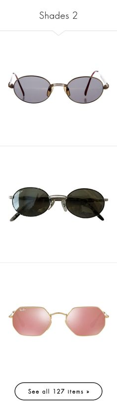 """""""Shades 2"""" by carla21crd ❤ liked on Polyvore featuring accessories, eyewear, sunglasses, gold, oval sunglasses, mirror sunglasses, jean-paul gaultier, oval glasses, jean paul gaultier eyewear and louis vuitton sunglasses"""