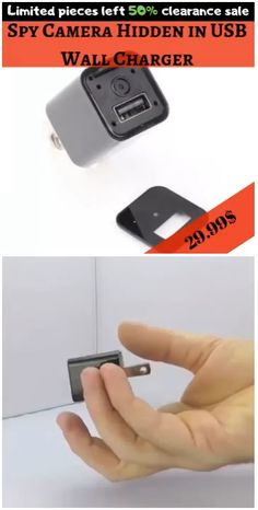 Charger is the most stealthy spy camera we've ever seen! 2017 New Upgrade Version HD Spy mini Degree wide angle view. Two Ways Video Recording Mode: Motion Detection Video Recording Cycle Video Recording. Best Camera For Photography, Photography Gear, Animal Photography, Wireless Home Security Systems, Security Tips, Security Alarm, Spy Gadgets, Electronics Gadgets, Hidden Cameras For Home