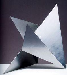 Sculpture by Lygia Clark: Contemporary Sculpture, Contemporary Art, Abstract Sculpture, Sculpture Art, Pliage Tole, Frieze Magazine, Triangle Art, Art Abstrait, Land Art