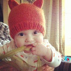 Red Fox Hat   AllFreeKnitting.com