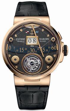ULYSEE NARDIN Marine Grand Deck Tourbillon in Rose Gold http://timeby.date/ulysee-nardin-marine-grand-deck-tourbillon-in-rose-gold/ #watchaddict #luxury #watchporn #watchmania #watchnerd #instawatch #horology #watchesofinstagram #dailywatch #luxurywatch #