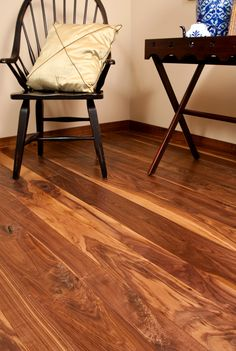 Harvest Character Walnut Flooring. THIS company says that radiant heating is ideal for antique wood. perhaps it's covered under their warranty.