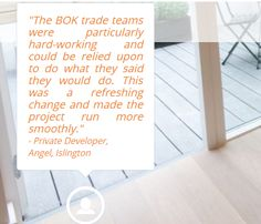 Discover BOK services through the eyes of our clients. Time to see what our clients have to say about us!
