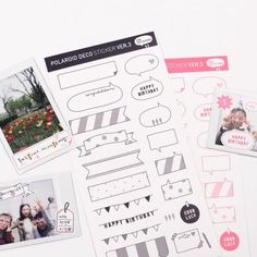 Instax Deco Sticker v5 $4.95