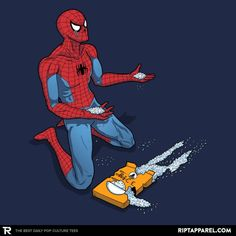The Uncle Ben Tragedy T-Shirt - Spider-Man T-Shirt is $13 today at Ript!