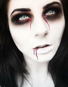 Dead Bride costume Makeup idea (236×300)