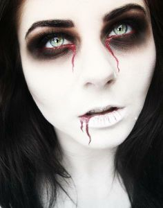 Dead Bride costume Makeup idea (236×300)